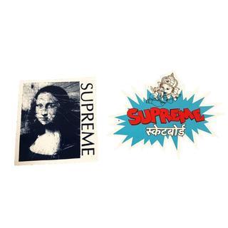 シュプリーム(Supreme)の⦅送料込み⦆【NYで大人気】シュプリーム2018SS ステッカー(ノベルティグッズ)