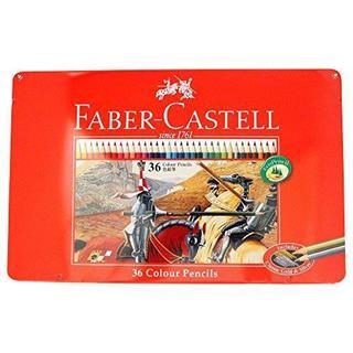 ファーバーカステル油性色鉛筆平缶36色セット(色鉛筆 )