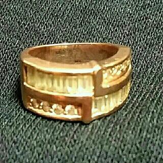 アヴァランチ(AVALANCHE)のアバランチ リング 10k(リング(指輪))