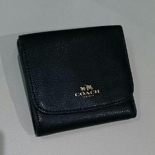 コーチ(COACH)のCOACH 折財布 黒(財布)