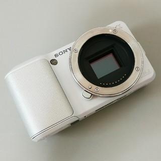 SONY - SONY NEX-3 ホワイト ボディ ミラーレス一眼