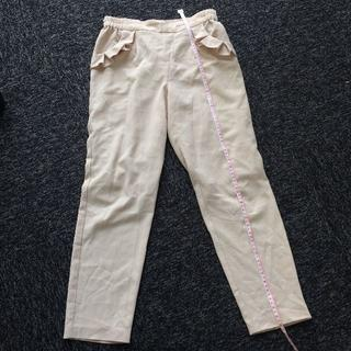 シマムラ(しまむら)のMサイズ 完売品 ポケットフリルパンツ(カジュアルパンツ)