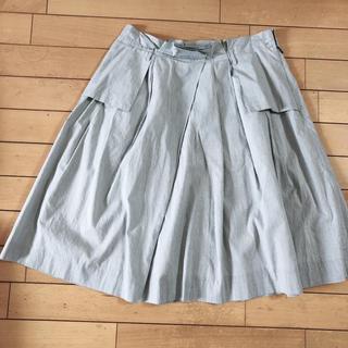 イエナ(IENA)のIENA ストライプスカート 38 美品!ひざ丈スカート(ひざ丈スカート)