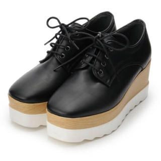オゾック(OZOC)のozoc 厚底レースアップシューズ(ローファー/革靴)