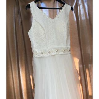 白ロングドレス ワンピース
