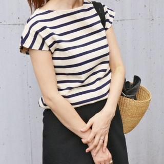 イエナ(IENA)のイエナ ボーダーフレンチスリーブTシャツ(カットソー(半袖/袖なし))