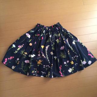 イエナ(IENA)の花柄 スカート  (ひざ丈スカート)