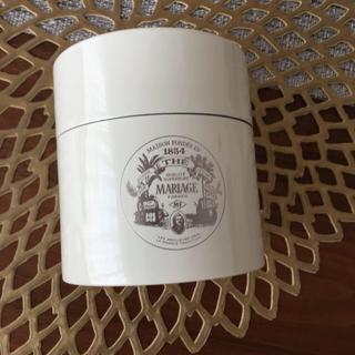 マリアージュフレール 茶筒 マルコポーロルージュ(茶)