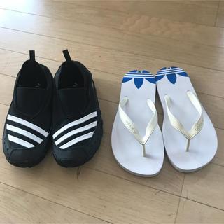 アディダス(adidas)のアディダス  ウォーターシューズ&サンダル セット(サンダル)