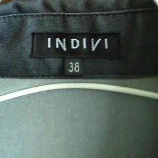 インディヴィ(INDIVI)のINDIVI 半袖シャツ(シャツ/ブラウス(長袖/七分))