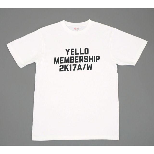 YELLO SHOES ノベルティ プリント Tシャツ ホワイト サイズXL レディースのトップス(Tシャツ(半袖/袖なし))の商品写真