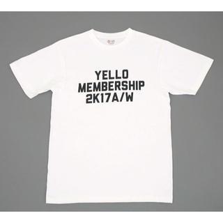 YELLO SHOES ノベルティ プリント Tシャツ ホワイト サイズXL(Tシャツ(半袖/袖なし))