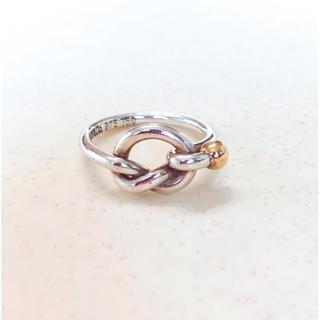 ティファニー(Tiffany & Co.)の【まぁたんさん専用】ティファニー ラブノットリング(リング(指輪))