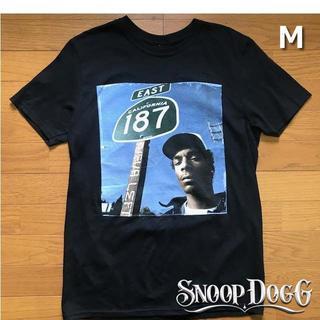 スヌープドッグ(Snoop Dogg)のレア!スヌープ・ドッグ フォト Tシャツ【M】黒 新品 180718(Tシャツ/カットソー(半袖/袖なし))