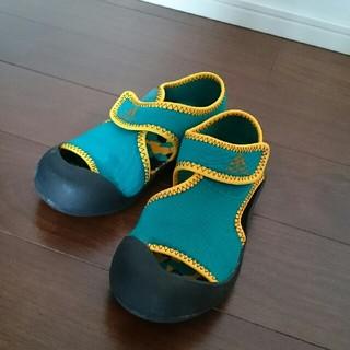 アディダス(adidas)のアディダス サンダル水陸両用 キッズ子供 グリーン男の子海プール川(サンダル)