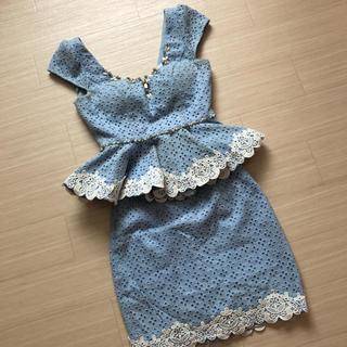 アン(an)のan*ツーピースドレス(ミニドレス)