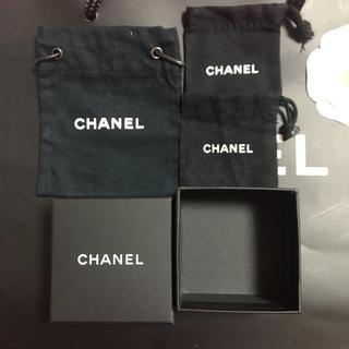 シャネル(CHANEL)の空箱 布袋 セット(ピアス)