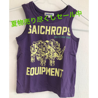シューラルー(SHOO・LA・RUE)の着用1回の美品!SHOO・LA・RUE男児サイズ100タンクトップ☆(Tシャツ/カットソー)