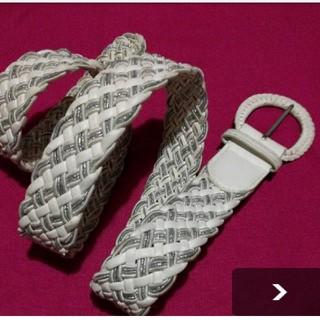 MUJI (無印良品) - ✨YS.カジュアルベルト、メッシュ編み込み