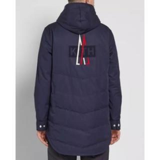 モンクレール(MONCLER)のKith X Moncler hoodie Quilted Jacket L(ブルゾン)