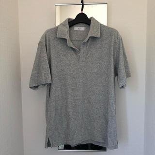 エディフィス(EDIFICE)の【美品】EDIFICE417 パイル地ポロシャツ(ポロシャツ)