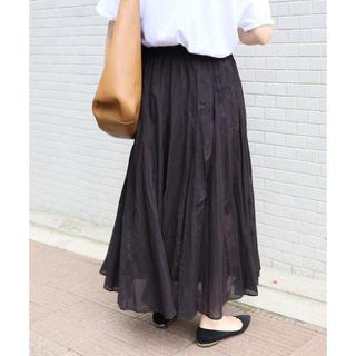 イエナ(IENA)の2018SS イエナ コットンボイル ギャザーパネルスカート(ロングスカート)
