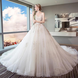 超高品質 レディース ウエディングドレス(ウェディングドレス)