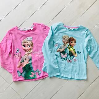 エイチアンドエム(H&M)の新品♡アナ雪トップスセット(Tシャツ/カットソー)