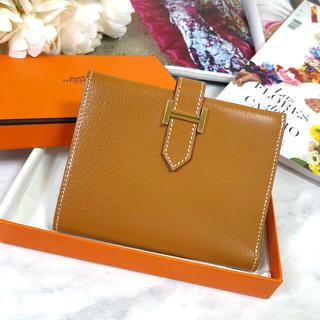 エルメス(Hermes)のHermes エルメス ベアン コンパクト ミニウォレット 二つ折り 財布(財布)