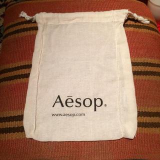 イソップ(Aesop)のAesop イソップ ショップバッグ 巾着袋 ショッパー(ショップ袋)