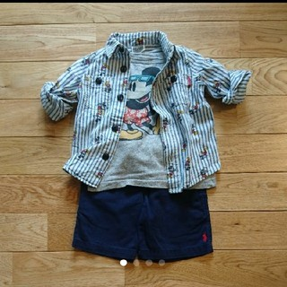 エフオーキッズ(F.O.KIDS)のF.OKIDS Tシャツ ロングシャツ セット(Tシャツ/カットソー)