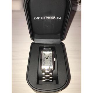 エンポリオアルマーニ(Emporio Armani)の美品 アルマーニ 腕時計 EMPORIO ARMANI スクエア(腕時計(アナログ))
