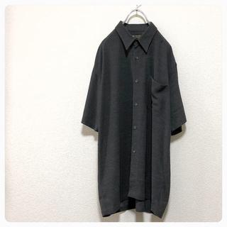 TOKIOS 昭和レトロ vintage 無地 オーバーサイズ 半袖 シャツ