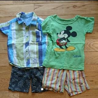 エフオーキッズ(F.O.KIDS)のF.OKIDS Tシャツ パンツ セット(Tシャツ/カットソー)