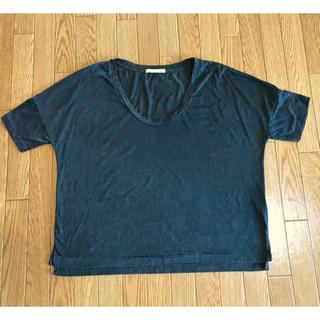 オルタナティブ(ALTERNATIVE)のalternative 透し模様入り ラフTシャツ チャコールグレー(Tシャツ(半袖/袖なし))