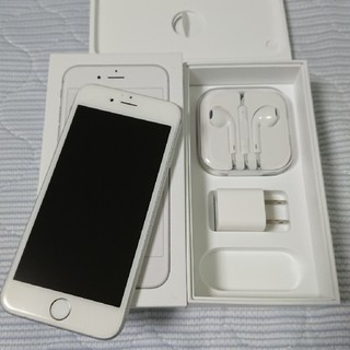 iPhone - iPhone 6s silver 64GB Softbank