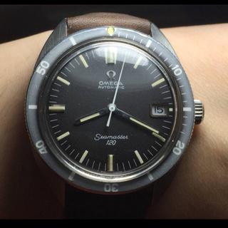 オメガ(OMEGA)の【OMEGA】アンティーク腕時計 シーマスター 120 オメガ OH済み(腕時計(アナログ))