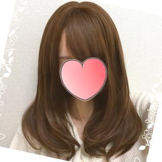 テカらないウィッグ♥ 新リアルつむじ&エアリー前髪 ミディアムゆるカール(ロングカール)