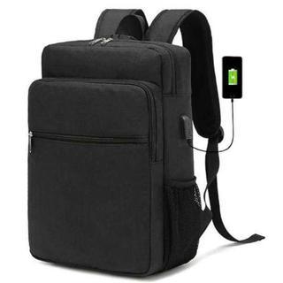 【大人気】ビジネスリュック バックパック USBポート パスワードロック(ビジネスバッグ)