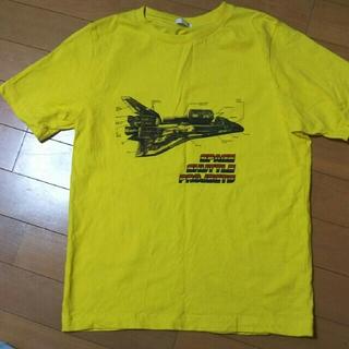 ジーユー(GU)の美品!着用3回!GU150センチTシャツ(Tシャツ/カットソー)