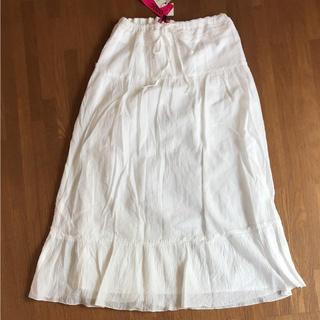 オゾック(OZOC)のOZOC ロングスカート 未使用タグ付き(ロングスカート)