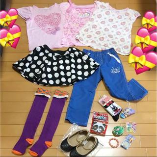 GU - 子供服 まとめ売り 女の子 夏 ブランド プリキュア  お得 コーデ セット