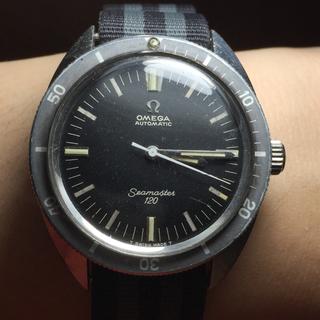 オメガ(OMEGA)の【OMEGA】アンティークシーマスター 120  激レアノンデイト‼︎ OH済み(腕時計(アナログ))