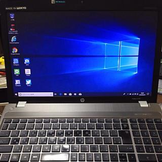 【HP】SSDノートパソコン