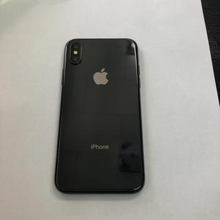 iPhone - 【美品】シムフリー iPhonex 64gb スペースグレイ au