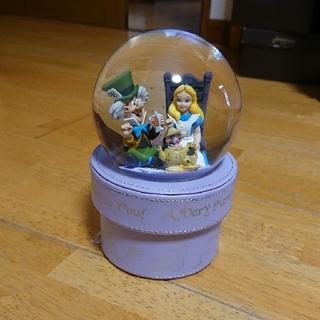 ディズニー(Disney)の不思議の国のアリス スノードーム(置物)