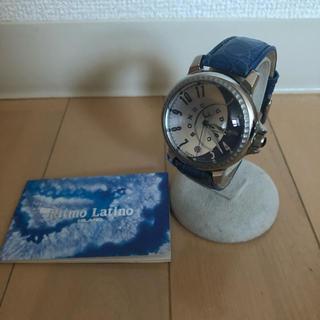 リトモラティーノ(Ritmo Latino)のリトモラティーノ Ritmo Latino  時計  稼働  取説付き(腕時計(アナログ))