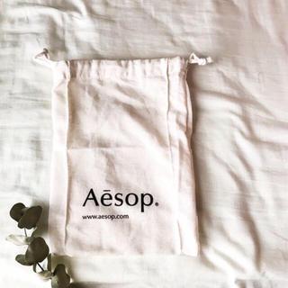 イソップ(Aesop)のAesop shop bag イソップ ショップバッグ 巾着 小(ショップ袋)
