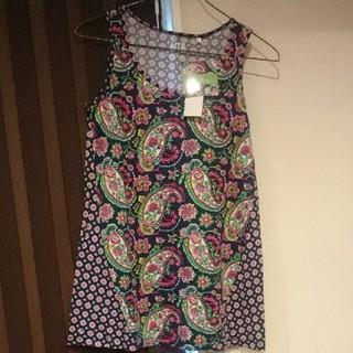 ヴェラブラッドリー(Vera Bradley)のvera bradley タンクトップ チュニック(Tシャツ(半袖/袖なし))
