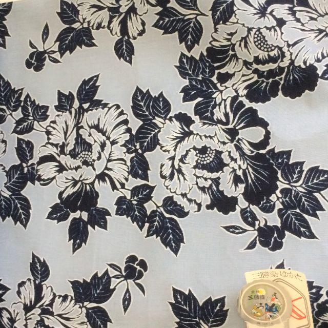 ごーごー様専用 新品 ゆかた 反物 高島屋購入品 ハンドメイドの素材/材料(生地/糸)の商品写真